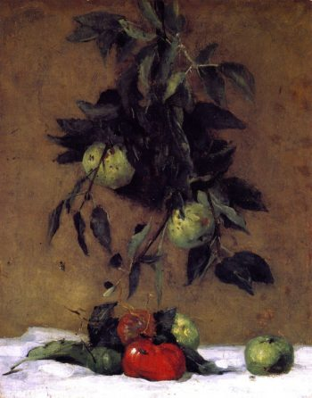 Fruit | Julian Alden Weir | oil painting