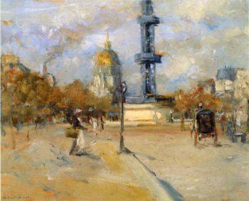 Place in Paris | Robert Henri | oil painting