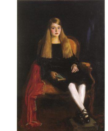 Portrait of Anne M Tucker | Robert Henri | oil painting