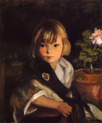 Portrait of Boby | Robert Henri | oil painting