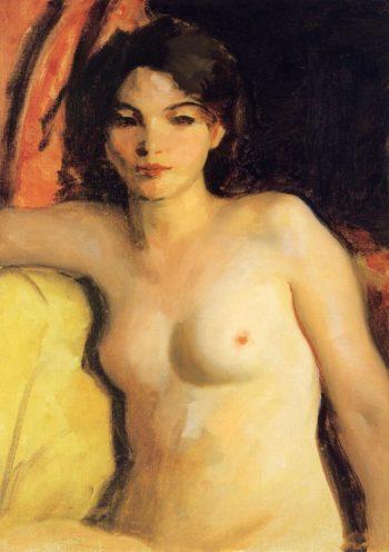 Portrait of Doris Trautman | Robert Henri | oil painting