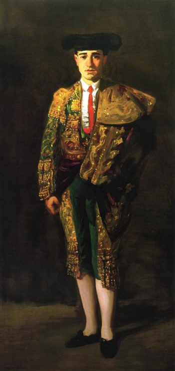 Portrait of El Matador Felix Asiego | Robert Henri | oil painting