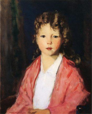 Portrait of Jean McVitty | Robert Henri | oil painting