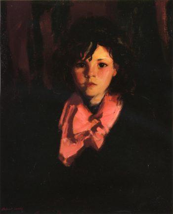 Portrait of Mary Ann | Robert Henri | oil painting