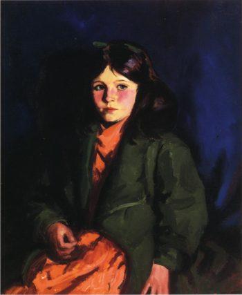 Portrait of Mary Patten | Robert Henri | oil painting