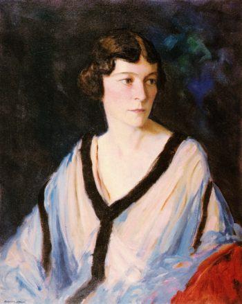 Portrait of Mrs Edward H Catherine Bennett | Robert Henri | oil painting