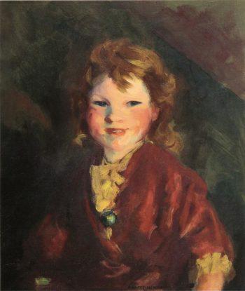 Portrait of Stella | Robert Henri | oil painting