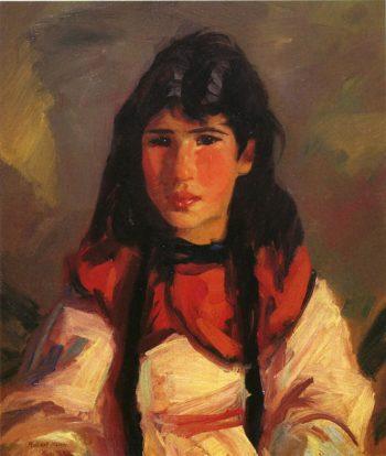 Portrait of Tillie | Robert Henri | oil painting
