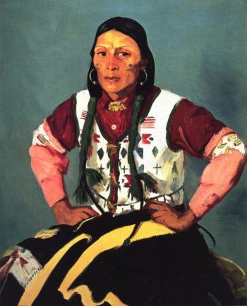 Po Tse Water Eagle | Robert Henri | oil painting