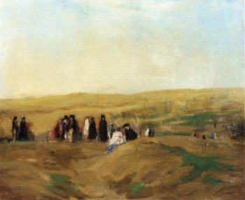 Procession in Spain | Robert Henri | oil painting