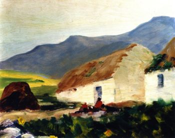 Road to Corrymore | Robert Henri | oil painting