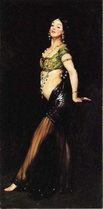 Salome | Robert Henri | oil painting