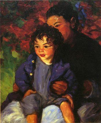 Sammy and His Mother | Robert Henri | oil painting