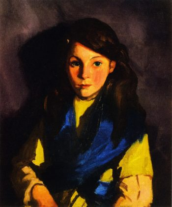 Sarah B | Robert Henri | oil painting
