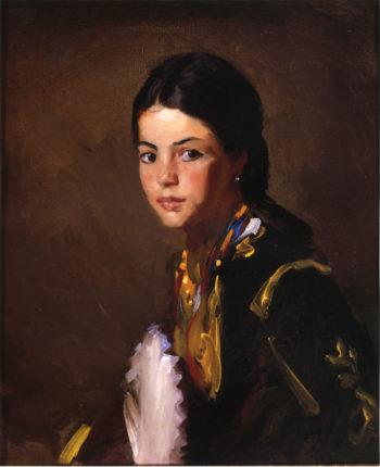 Segovian Girl | Robert Henri | oil painting