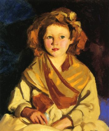 Sissy in Yellow | Robert Henri | oil painting