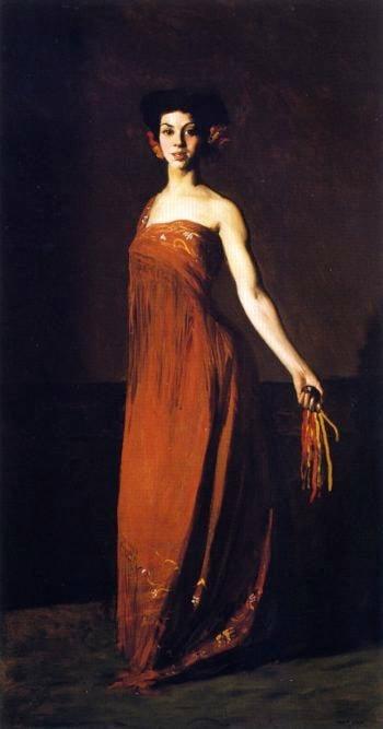Spanish Dancer Seviliana | Robert Henri | oil painting