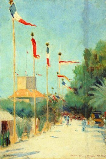 St Nozaire France | Robert Henri | oil painting