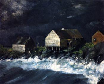 Storm Tide | Robert Henri | oil painting