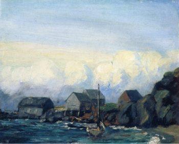 Study for Storm Tide   Robert Henri   oil painting