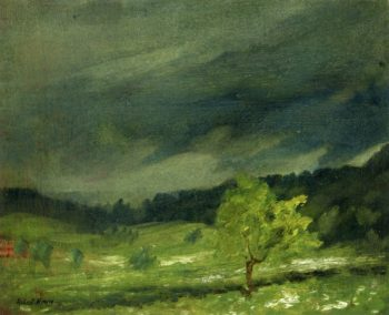 Summer Storm | Robert Henri | oil painting