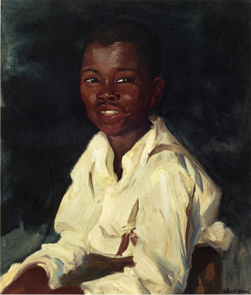 Sylvester Smiling | Robert Henri | oil painting