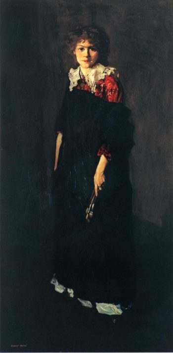 The Art Student | Robert Henri | oil painting