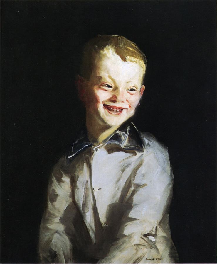 The Laughing Boy   Robert Henri   oil painting