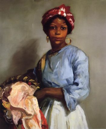 The Laundress | Robert Henri | oil painting