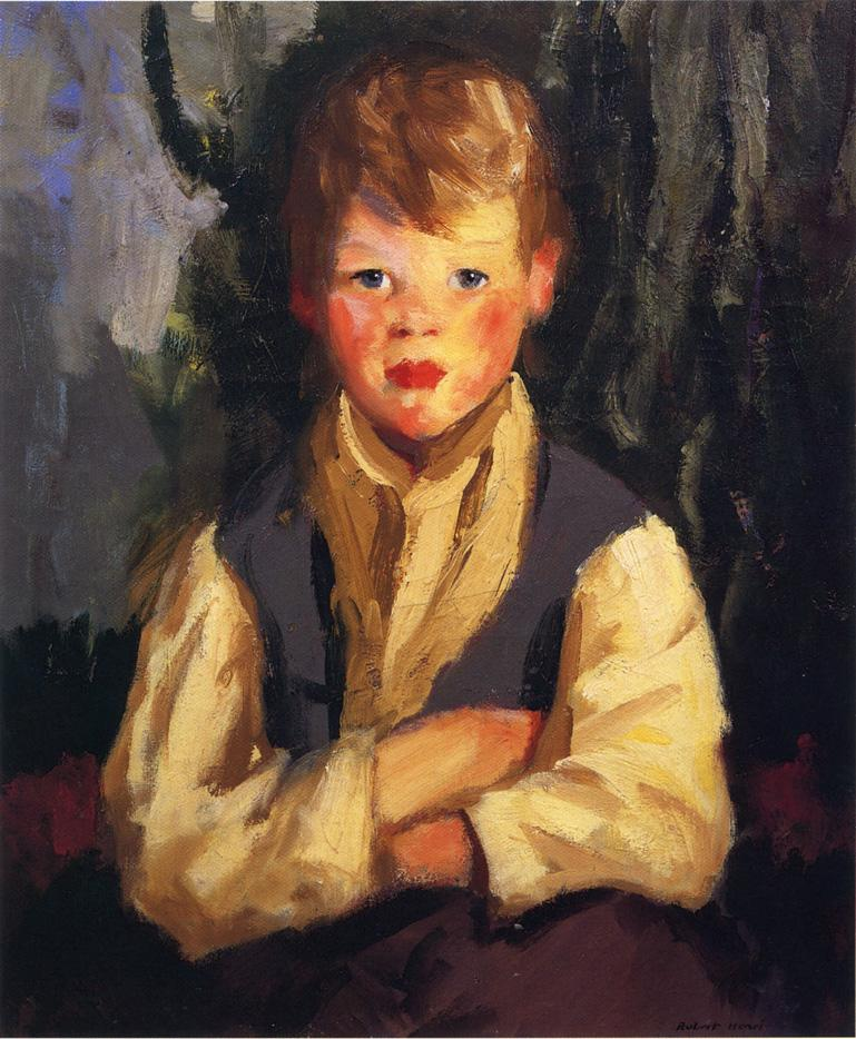The Little Irishman | Robert Henri | oil painting