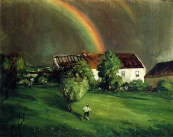 The Rainbow Hormandie | Robert Henri | oil painting