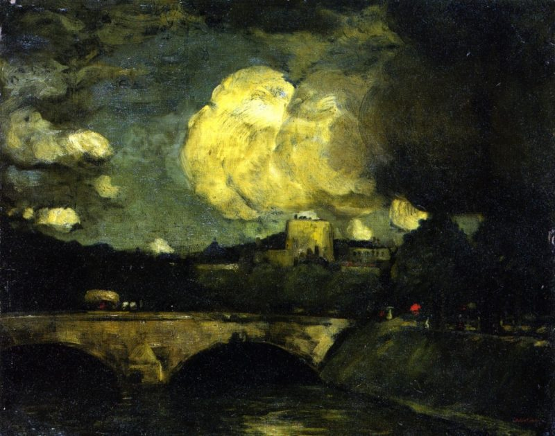 The Rain Clouds | Robert Henri | oil painting