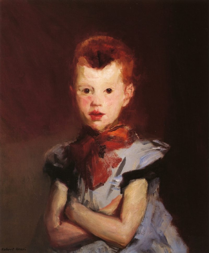 The Red Top | Robert Henri | oil painting