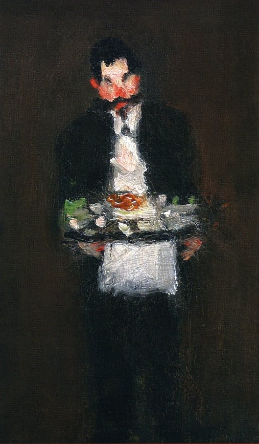 The Waiter | Robert Henri | oil painting
