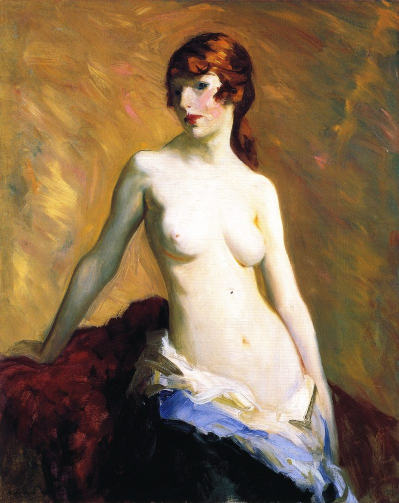The Young Girl | Robert Henri | oil painting