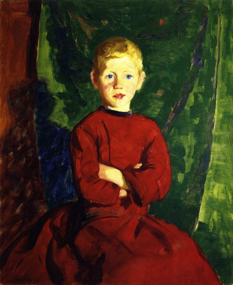 Thomas in His Red Coat | Robert Henri | oil painting