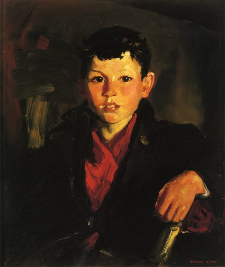 Tom | Robert Henri | oil painting
