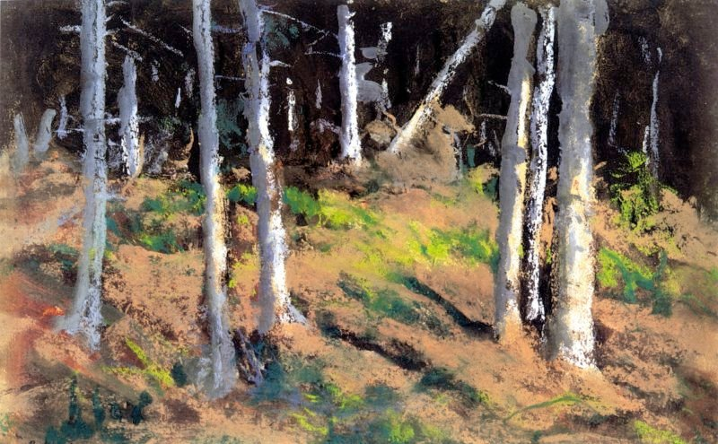 Where the Trees are Dying | Robert Henri | oil painting