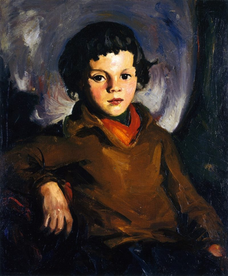 Young Chevass | Robert Henri | oil painting