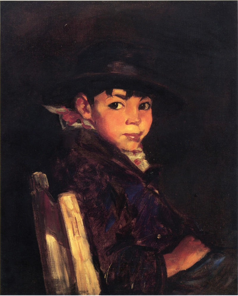 Young Sport | Robert Henri | oil painting