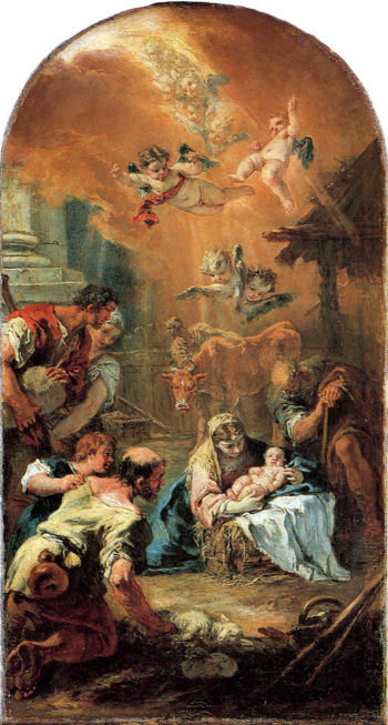 Adoration of the Shepherds | Sebastiano Ricci | oil painting