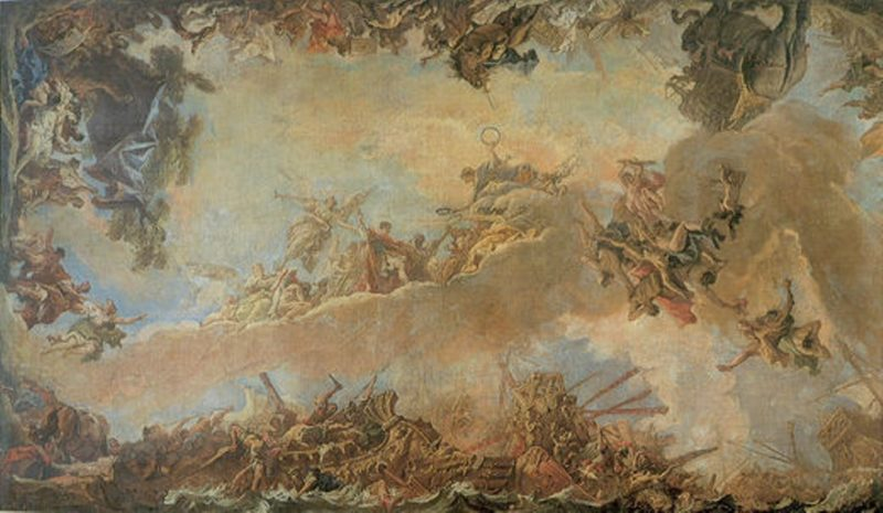 Allegory of Heavenly Virtue | Sebastiano Ricci | oil painting