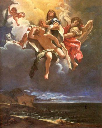 Apotheosis of a Saint | Sebastiano Ricci | oil painting
