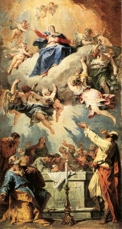 Assumption | Sebastiano Ricci | oil painting