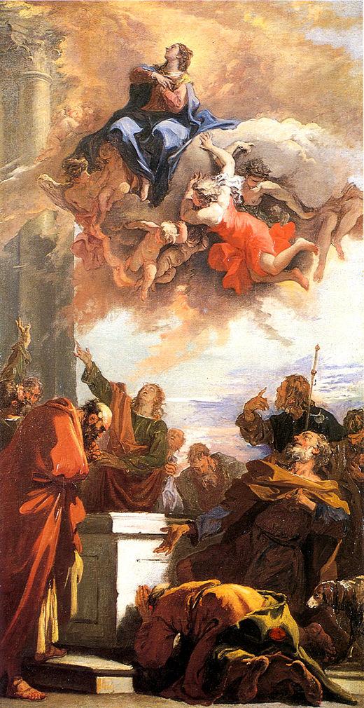 Assumption | Sebastiano Ricci | oil painting
