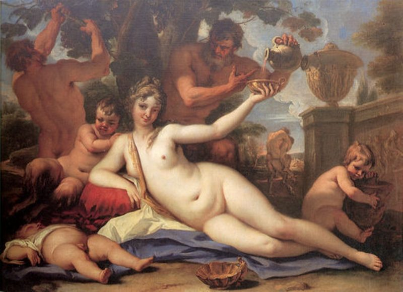 Bacchante   Sebastiano Ricci   oil painting