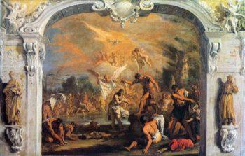 Baptism of Christ | Sebastiano Ricci | oil painting