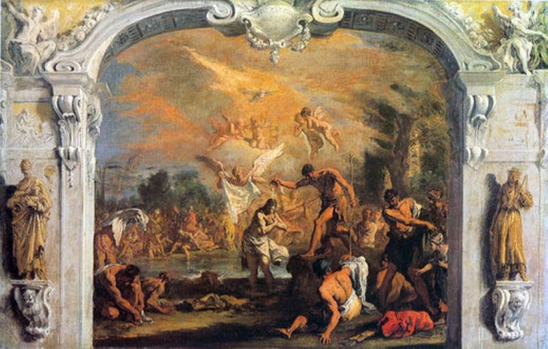 Baptism of Christ | Sebastiano Ricci | oil painting