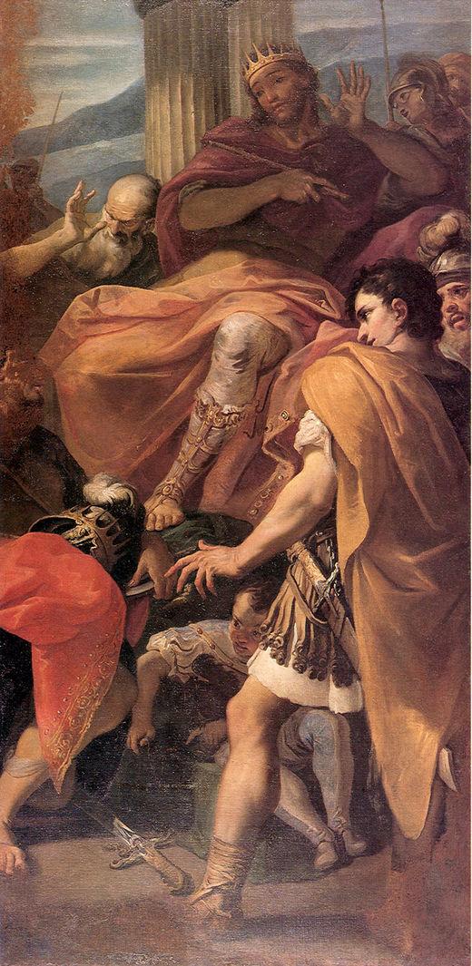 David before the Army of Saul | Sebastiano Ricci | oil painting