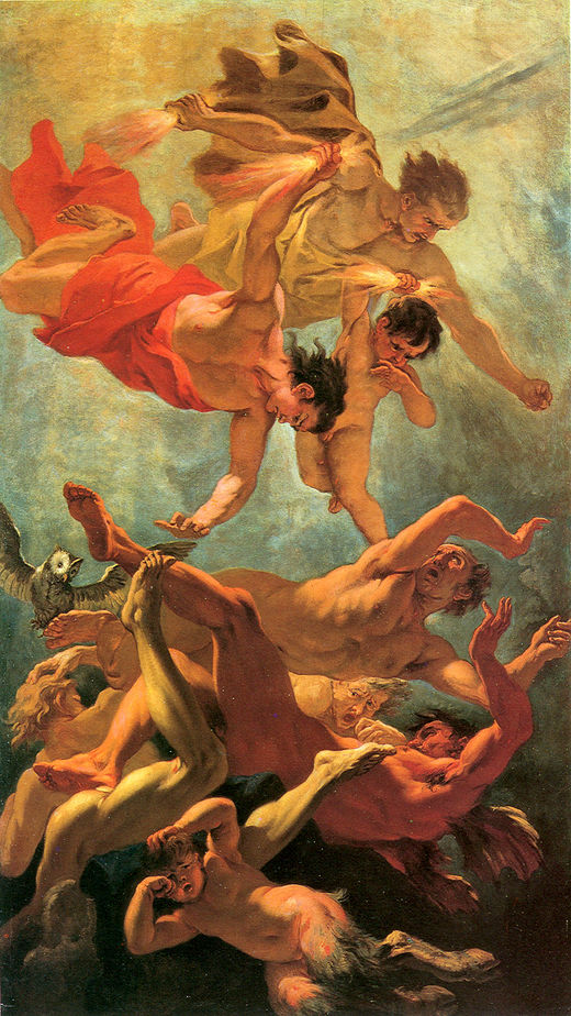 Dawn | Sebastiano Ricci | oil painting